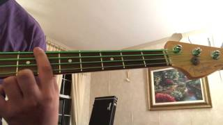 San Andreas theme song tutorial on bass