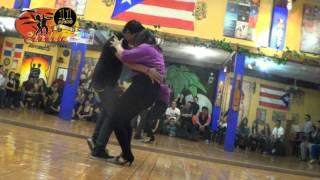 Final Concurso de bachata en Candela latin club Febrero 2014