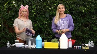 MAKING SLIME & INTERVIEWING BRELAND AVDEEV // Only On Trending All Day