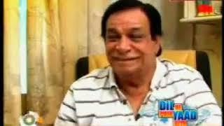 Kader Khan I Interview I DIL NE PHIR YAAD KIYA I Bollywood Legends