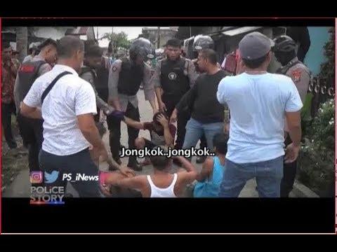 Heboh!! Penyergapan Pengedar Narkoba di Medan Jadi Tontonan Warga Part 01 - Police Story 1508