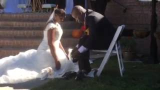 Williams Wedding Foot Washing Ceremony