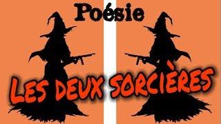 Poésie 🎃 Les deux sorcières (2 sorcières) de Corinne Albaut 🎃