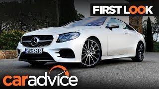 2017 Mercedes-Benz E-Class Coupe First Look review | CarAdvice