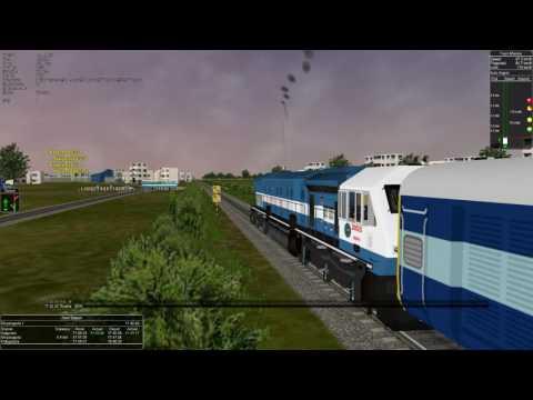 Xxx Mp4 MSTS IR Indian Railways Train Simulator Falaknuma Express With New Sounds 3gp Sex