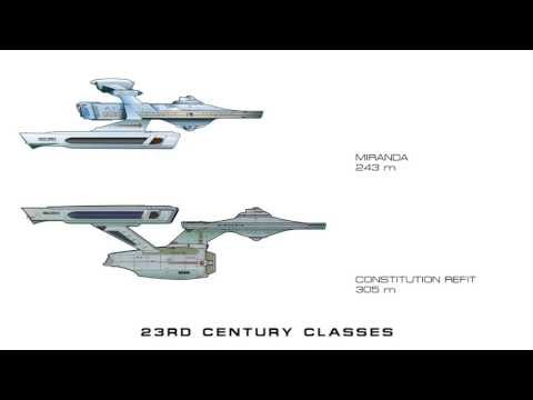 watch Federation Starships - Class Size Comparisons