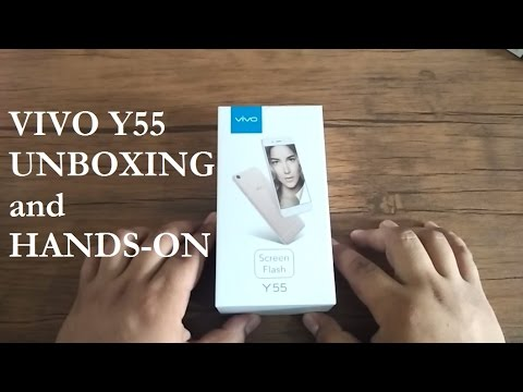 Vivo Y55 Unboxing and Hands-on (Philippines)