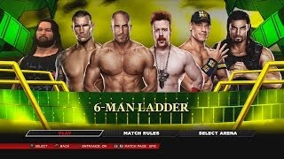 WWE 2K14 - Ladder Match for the WWE World Heavyweight Championship Money in the Bank