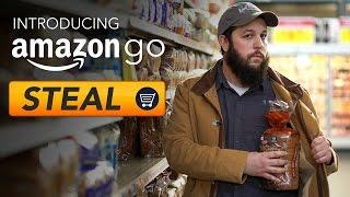 Amazon Go: Just Steal Stuff - RT Shorts