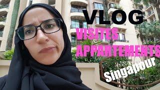 FAMILY Vlog : Recherche appartement a Singapour