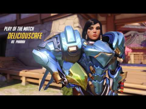 Overwatch Sick Competitive Skilled Play Compilation