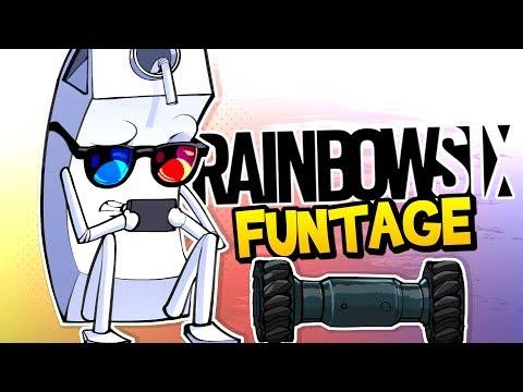 Rainbow Six Siege FUNTAGE Mannequin Challenege Rook Armor & MORE