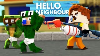 Minecraft Baby Hello Neighbour - THE NEIGHBOUR KIDNAPPED RAMONA!?