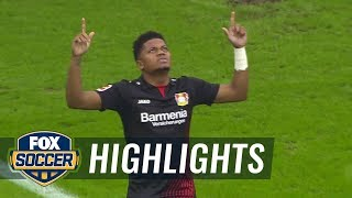 Hamburger SV vs. Bayer Leverkusen | 2017-18 Bundesliga Highlights