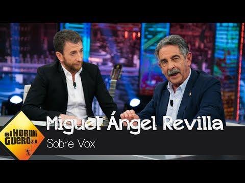 Miguel Ángel Revilla opina sobre el resultado de Vox en Andalucía - El Hormiguero 3.0