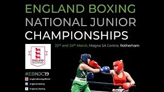 England Boxing National Junior Champs 2019 - Day 1 Ring A