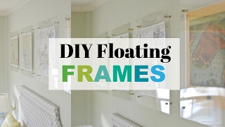 How To Make A Floating Acrylic Frame