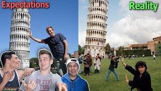 Expectations Vs. Reality (Traveling)