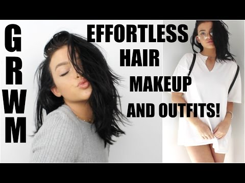 HOW TO LOOK CUTE WITH NO EFFORT! | Back to school GRWM