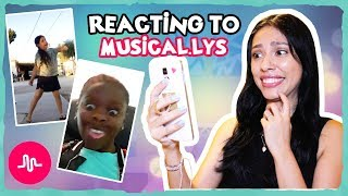 REACTING TO MY SUBSCRIBERS MUSICAL.LYS!