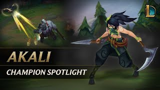 Akali Champion Spotlight | Gameplay - League of Legends