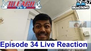 Aizen Death!! - Bleach Anime Episode 34 Live Reaction