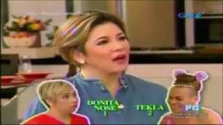 Regine Velasquez Sing and FUNNY moments w/ Tekla and Donita