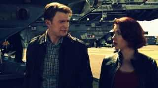 Black Widow and Captain America | Radioactive