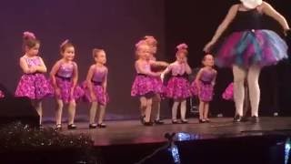 LITTLE GIRL REFUSES TO PERFORM AT CHRISTMAS DANCE RECITAL!!