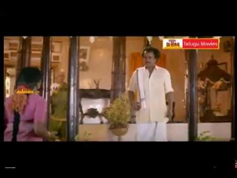Rowdy jamindar Telugu Movie  Scene - Rajikanth, Meena