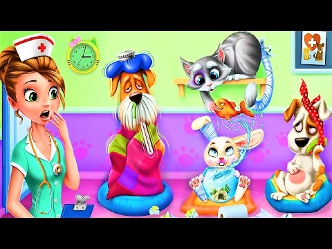 Animal Doctor Care Fun Cute Little Animals Pet Doctor Kids games