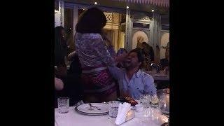 شاهد رقص الفنانه ناهد السباعي مع احد الرجال!! الفيديو الذي اثار الجدل علي السوشيال ميديا
