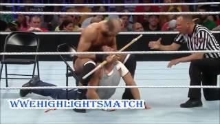SmackDown 25/07/2014-Dean Ambrose VS Cesaro Highlights