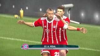 PS4 PES 2017 Gameplay FC Bayern München vs Borussia Dortmund HD