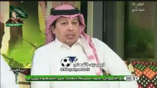 فيصل الجفن يجلد الاعلاميين وفصلة سعود الصرامي على المحللين الرياضين