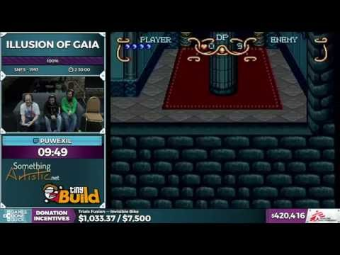 Illusion of Gaia by puwexil in 2:21:34 - SGDQ 2016 - Part 111