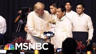 Analysis: Contrasting Accounts Of Donald Trump And Rodrigo Duterte Talks   Velshi & Ruhle   MSNBC