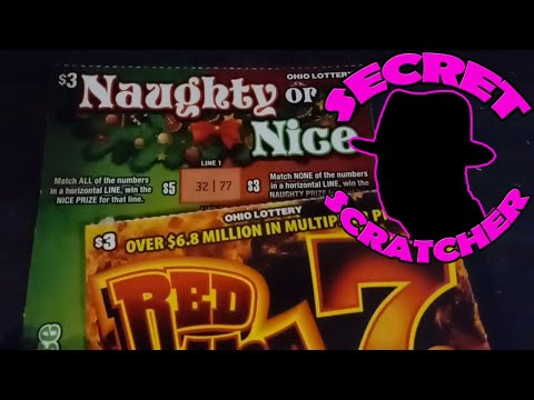 Xxx Mp4 Red Hot 7 S Naughty Or Nice Two 3 Tickets From The OH Lottery 3gp Sex