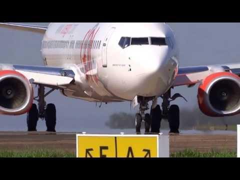 PR GXC NOVÍSSIMO BOEING DA GOL DECOLANDO DO AEROPORTO DE LONDRINA.