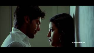 Kiss Scene Between Trisha & Arya || Sarvam Movie || Trisha