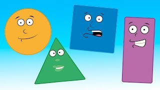 Learn shapes with Delmore the Donkey | shapes song for kids | children