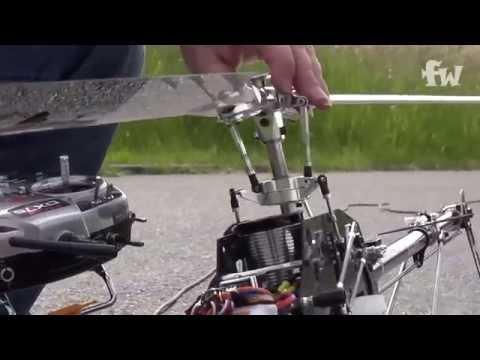 Align APS Gyro 3GX Flybarless System - Einstellen