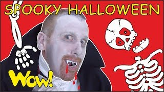 Spooky Halloween Songs and Stories for Kids from Steve and Maggie   Free Speaking Wow English TV