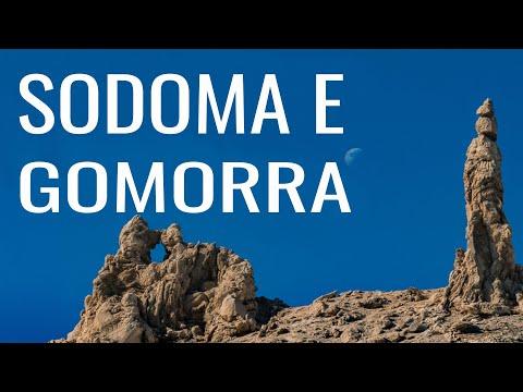 As ruínas de Sodoma e Gomorra CARAVANA A ISRAEL 2010