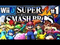 Super Smash Bros 4 Wii U PART 1 Starting Roster Character Unlock Mega Man HD Gameplay Walkthrough