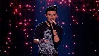 Rylan Clark sings for survival - Live Week 1 - The X Factor UK 2012