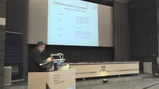 Manfred Thaller (Universität Köln), Changing the medium of editions, again