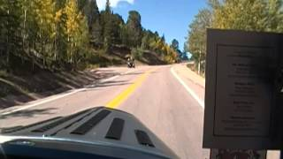 Climbing Pikes Peak in a hot rod (four banger)