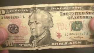 Dollar Bill illusion