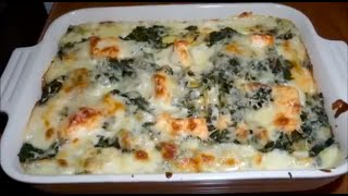 Salmon Lasagna with Spinach - Recipe #22